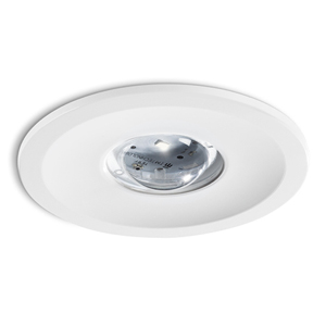 Led emergency and exit lighting kaza for electro mechanical works tm technologie rino is a qatar civil defense qcd approved led round recessed emergency light fitting fitting supplied in 1w2w5w in accordance with mozeypictures Images